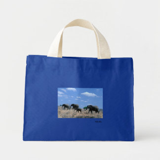 Elephant March Tote Bag