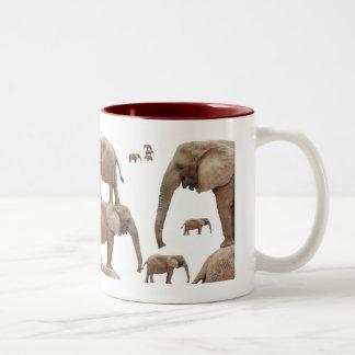 Elephant Meeting Mug