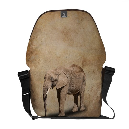 ELEPHANT MESSENGER BAG