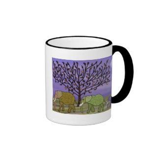 Elephant Moon Ringer Mug