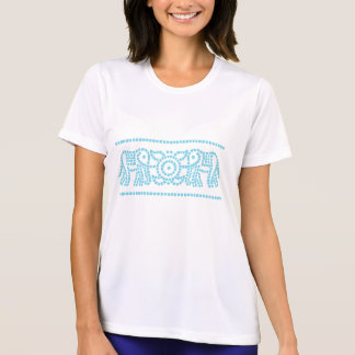 Elephant motif t-shirt