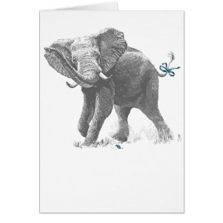 ELEPHANT & MOUSE (BOY) CARD