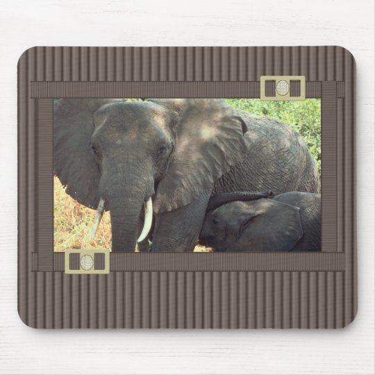 Elephant Mouse Mat
