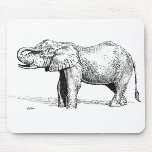 Elephant Mouse Mat