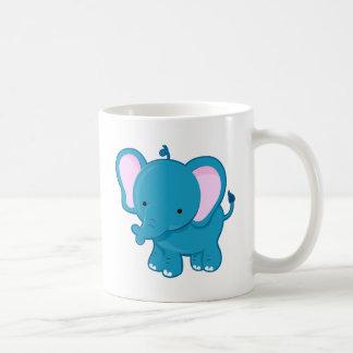 Elephant Classic White Coffee Mug