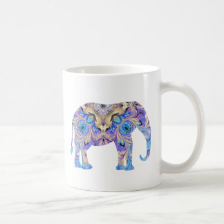 Elephant Mug Kaleidoscope Design