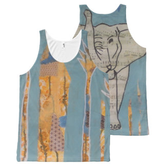 Elephant Music Tank Top