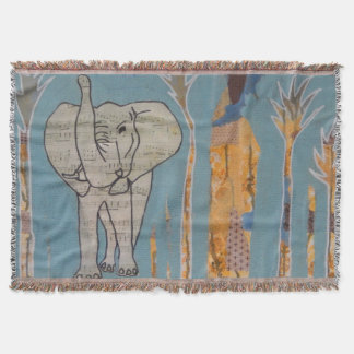 Elephant Music Throw