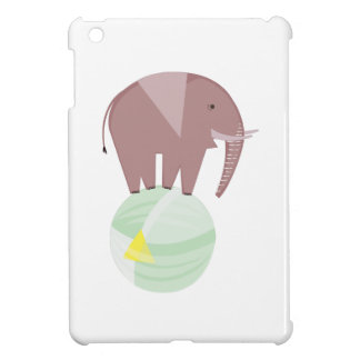 Elephant On Ball iPad Mini Covers
