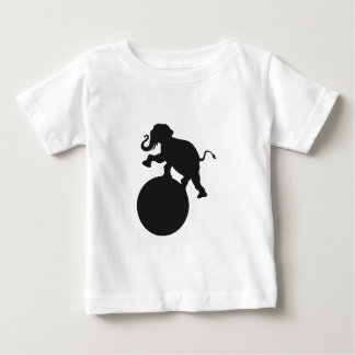 elephant_on_ball.png baby T-Shirt