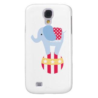 Elephant on Circus Ball Galaxy S4 Case
