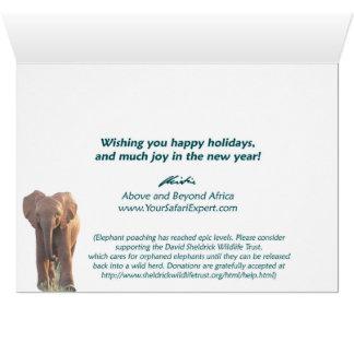 Elephant Orphans Card (A and B)