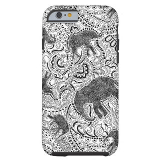 elephant paisley iphone case