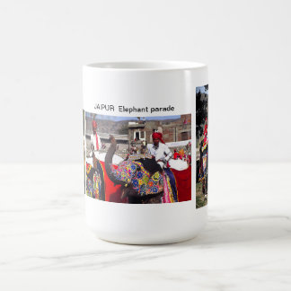 ELEPHANT PARADE JAIPUR INDIA COFFEE MUG
