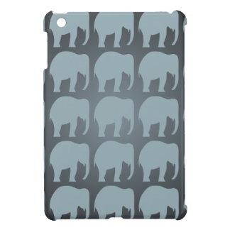 Elephant pattern iPad Mini case