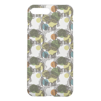 Elephant Pattern iPhone 8 Plus/7 Plus Case