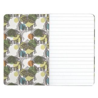 Elephant Pattern Journal