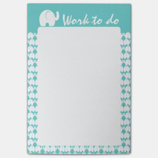 Elephant Pattern Post-it Notes