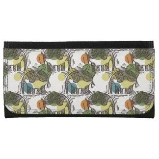 Elephant Pattern Wallet