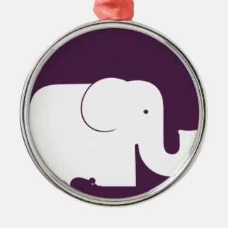 Elephant.pdf Christmas Ornament