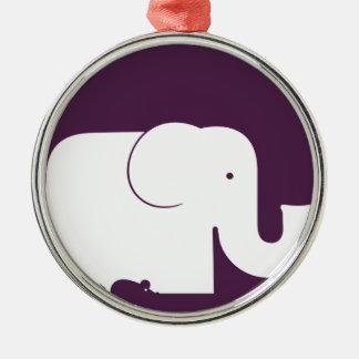 Elephant.pdf Christmas Ornament