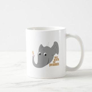 Elephant Peanut Coffee Mug