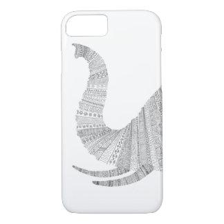 Elephant Peeking iPhone 7 Case