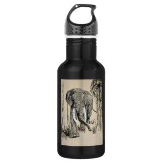 Elephant 18oz Water Bottle