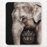 Elephant Photo Image Mousemats