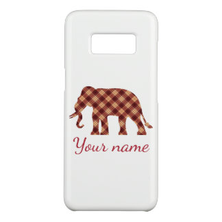 Elephant plaid Case-Mate samsung galaxy s8 case