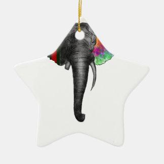 elephant.PNG Christmas Ornament