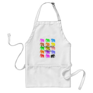 Elephant PopArt Gifts Apron