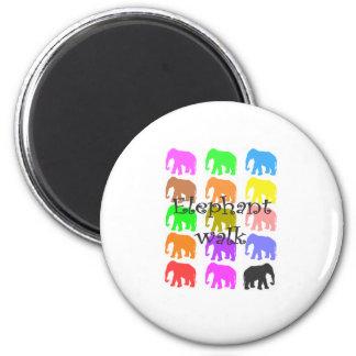 Elephant PopArt Gifts Fridge Magnet