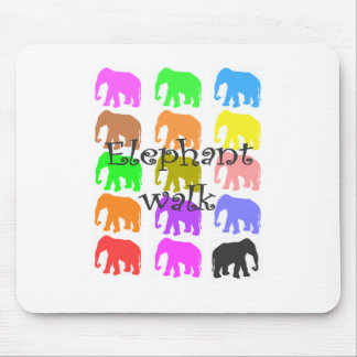 Elephant PopArt Gifts Mousepads