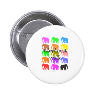 Elephant PopArt Gifts Pinback Button