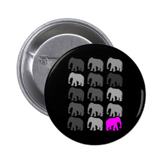 Elephant PopArt Gifts Pinback Buttons