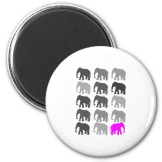 Elephant PopArt Gifts Refrigerator Magnet