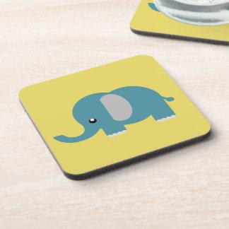 Elephant prints on coasters
