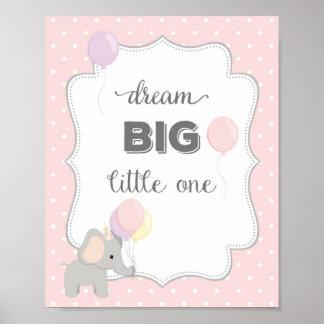 Elephant Quote Art Print