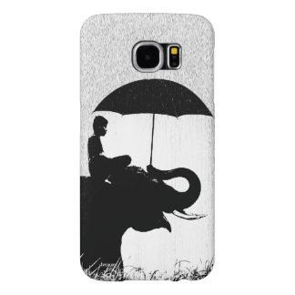 Elephant rain Art- Samsung Galaxy S6 Barely There
