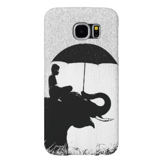 Elephant rain Art- Samsung Galaxy S6 Barely There Samsung Galaxy S6 Cases
