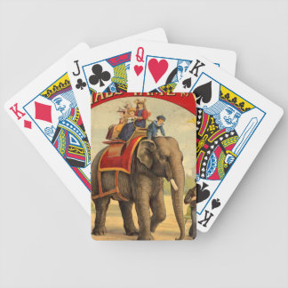 Elephant Red Book Bicycle Playing Cards