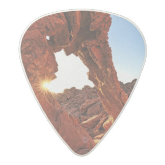 Elephant Rock in the Valley of Fire Acetal Guitar Pick