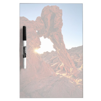 Elephant Rock in the Valley of Fire Dry Erase Board