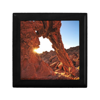Elephant Rock in the Valley of Fire Small Square Gift Box