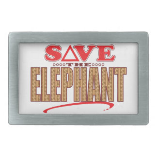 Elephant Save Belt Buckles