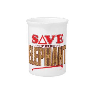 Elephant Save Pitcher