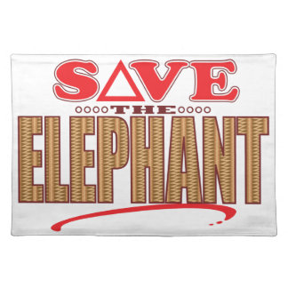 Elephant Save Placemat