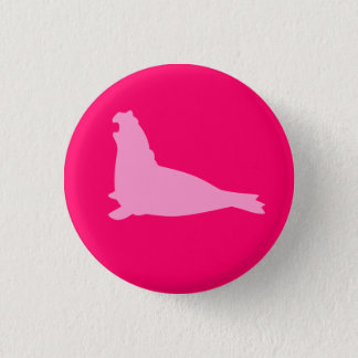 Elephant Seal Button Pink