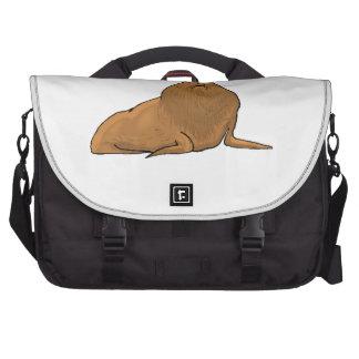 Elephant Seal Laptop Messenger Bag